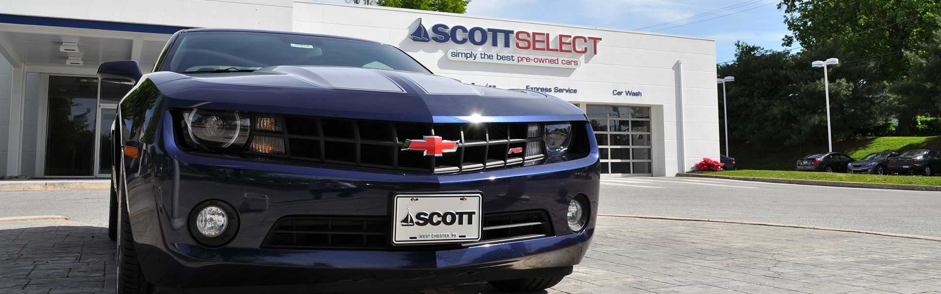 Scott Select Used Cars located in West Chester, PA